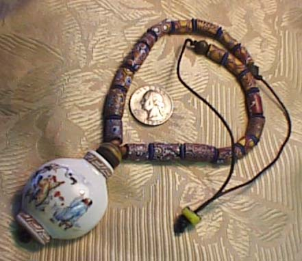 More African Trade Bead Necklaces